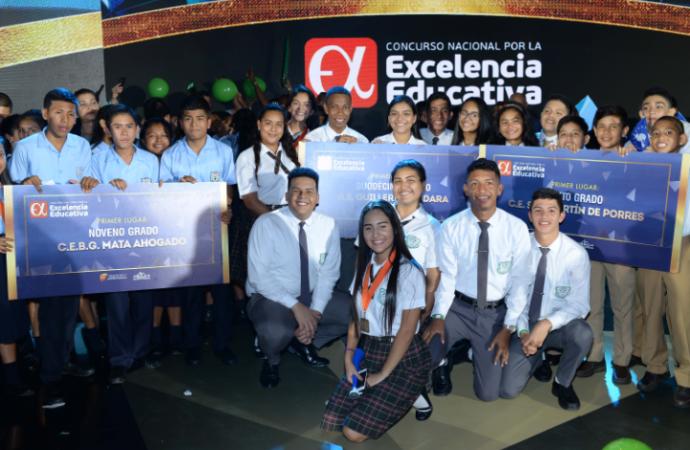 Noche de galardones para la Excelencia Educativa