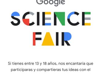 Jóvenes inventores: ¡La Feria de las ciencias de Google está abierta!