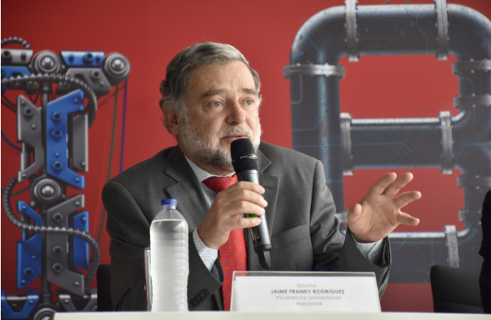 """Revolución 4.0 debetomarse en serio"", expresóJaime Rodríguez de laUniversidad Nacional de Colombia"