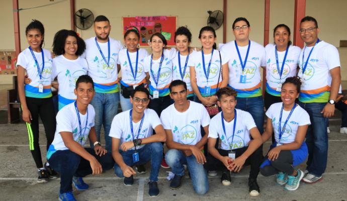 Celsia patrocina participación de jóvenes panameños en el Movimiento Escuela de La Paz