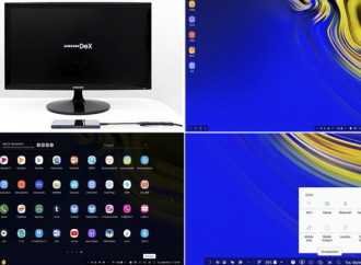 Conviértete en una potencia de productividadcon Samsung DeX