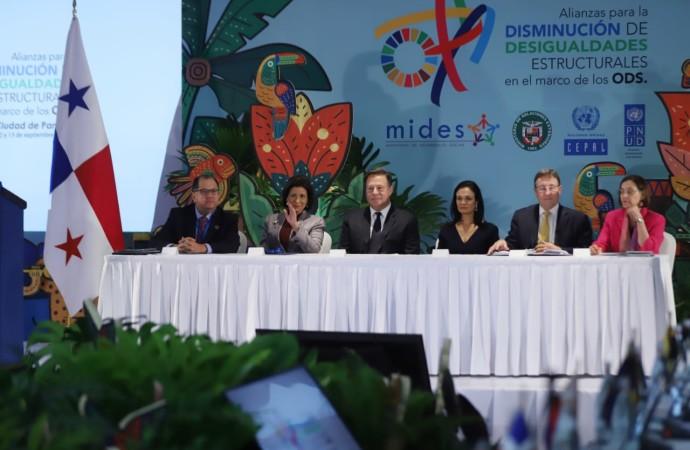 Presidente Varela inauguró Foro Ministerial para el Desarrollo en América Latina y El Caribe