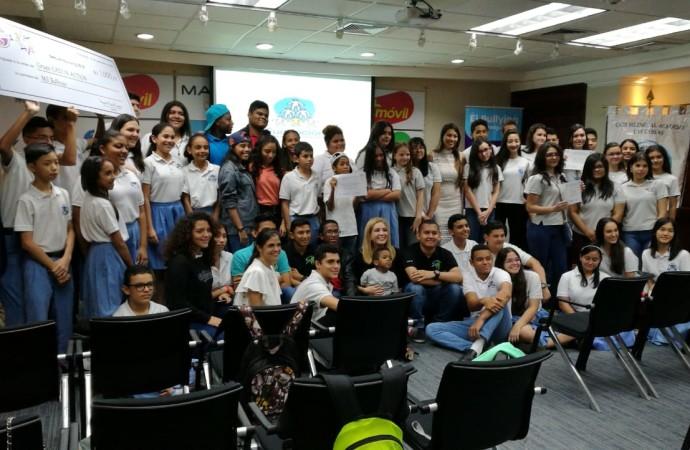 Fundamorgan participó en la premiación del Reto Anti-Bullying