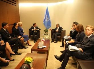 ONU: Presidente Juan Carlos Varela sostiene reuniones paralelas de alto nivel