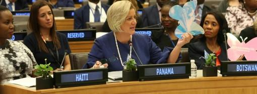 Primera Dama hace llamado a fortalecer las medidas de prevención y protección a las mujeres que sufren violencia de género
