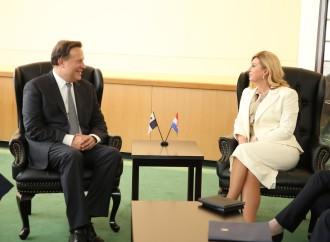 Presidente Varela se reúne con líderes de Croacia, Cuba, Japón, Marruecos y China