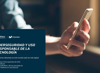 Telefónica promueve Conversatorio sobre Ciberseguridad y Uso responsable de la Tecnología