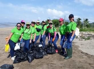 Multivoluntarios refuerzan la campaña #SinContaminaciónporplástico