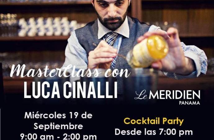 Masterclass con Luca Cinalli en Panamá