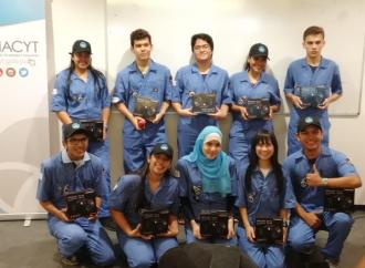 Estudiantes panameños viajan a Paraguay para competir por primera vez en la X Olimpiada Latinoamericana de Astronomía y Astronáutica
