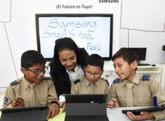 Samsung se apoya en la tecnología para enriquecer el trabajo educativo en el aula