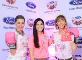 Las Guerreras Rosadas Ford se unen a la Petición Rosa de FundAyuda