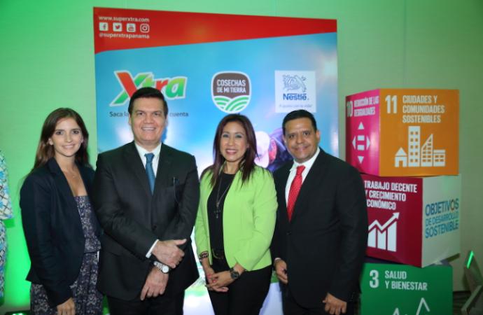 Supermercados Xtra y Nestlé Panamá suscriben un convenio de colaboración