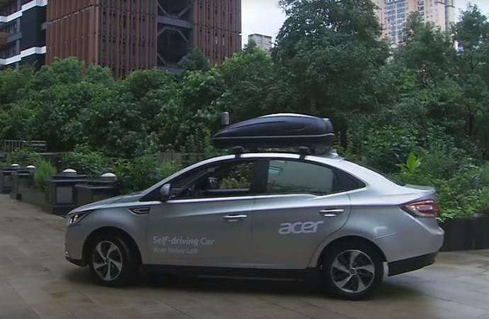 Acer se expande: presenta su vehículo autónomo