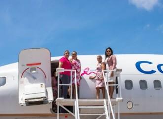 Copa Airlines ratifica su compromiso en la lucha contra el Cáncer de Mama y Próstata