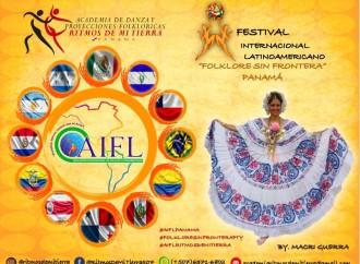 Folklore Sin Fronteras, 1er Festival Internacional Latinoamérica