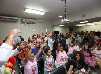Despacho de la Primera Dama celebra el Día de Dar con sobrevivientes de cáncer en el Instituto Oncológico Nacional