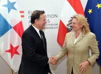 Presidente Varela culmina productiva gira oficial de tres días en Austria e Italia
