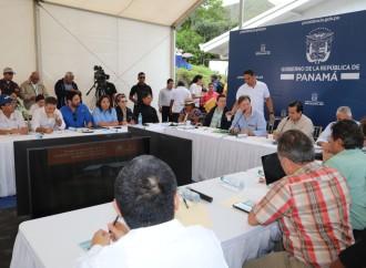 Presidente Varela lidera primer Gabinete Agropecuario en la comarca Ngäbe Buglé