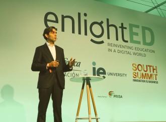 """Presidente de Telefónica inauguró """"enlightED"""", en el marco de South Summit 2018"""
