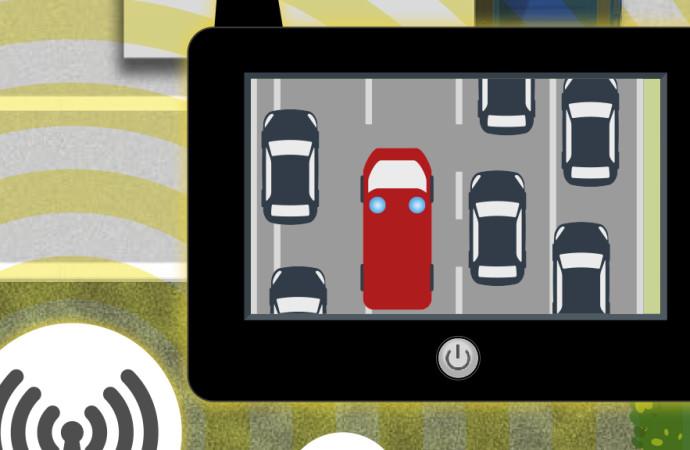 Un prototipo advierte rápidamente a los conductores de los accidentes que se avecinan