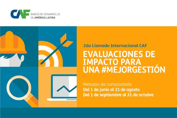 CAF invita a instituciones panameñas a participar en la convocatoria de evaluaciones de impacto para una mejor gestión