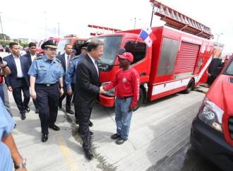Administración del presidente Varela ha mejorado condiciones laborales y salariales de los miembros del Cuerpo de Bomberos