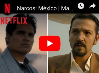 Netflix lanza nuevos avances de Narcos: México, Mowgli y más