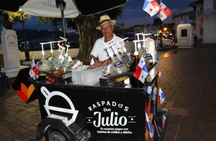 Mastercard impulsa el uso depagos electrónicos de pequeños comercios:Don Julio Mendoza el primerCashless Makeoveren Panamá