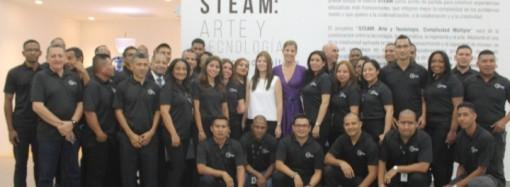 """TECNASA inaugura exposición """"Arte y Tecnología, Complicidad Múltiple"""" producto de un proyecto STEAM"""