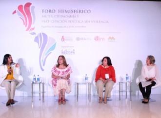 Violencia Política en contra de las Mujeres: Tema central de Foro Hemisférico