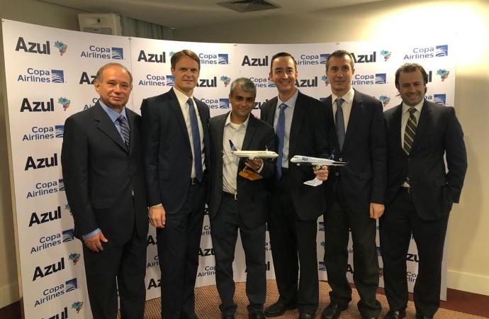 Azul yCopa Airlines anuncian acuerdo de Código Compartido y fortalecen alianza de sus programas de Viajero Frecuente