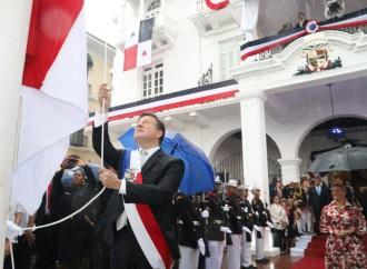 Presidente Varela llama al pueblo panameño a la unidad, durante la conmemoración de los 115 años de vida republicana