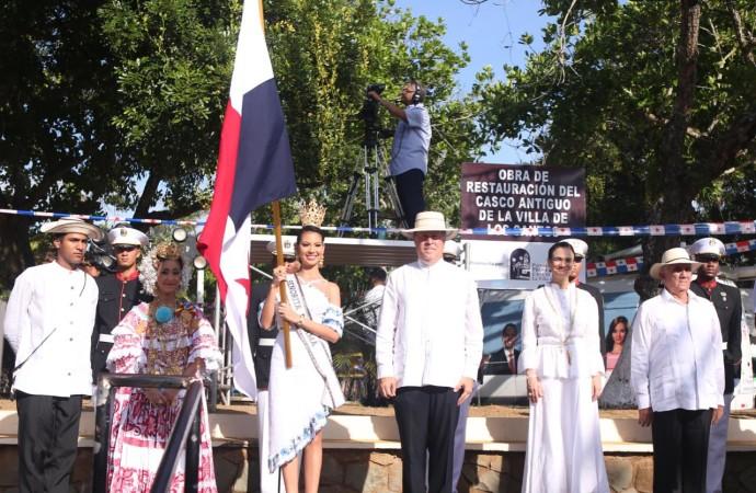 Presidente Varela resalta ejemplo de heroísmo, patriotismo e independentista de próceres santeños