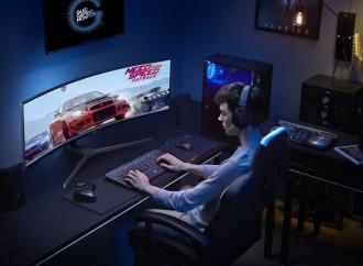 Los monitores curvos de Samsung ofrecen una experiencia realista y profesional a los gamers de hoy