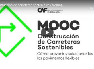 Es mejor prevenir que repavimentar: Nuevo curso virtual gratuito de CAF en construcción de carreteras sostenibles