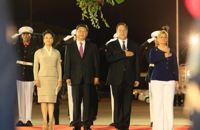 Llega a Panamá el Presidente de la República Popular China, Xi Jinping, para una Visita de Estado sin precedentes