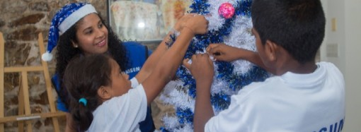 La Navidad Azul de Samsung vuelve para traer alegría y amor por la lectura