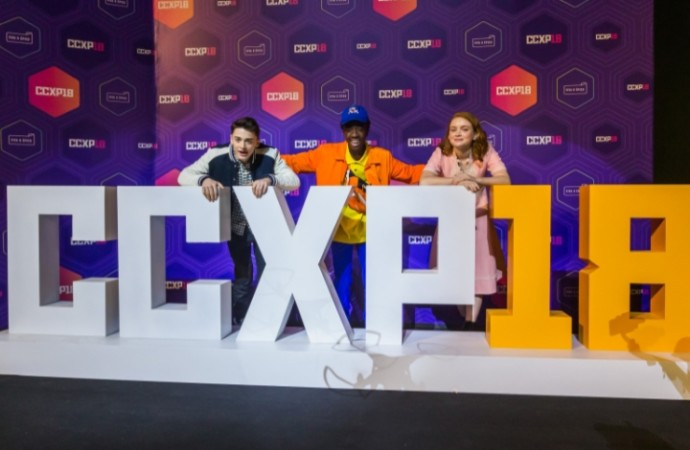 NETFLIX cierra el CCXP 2018 con el elenco de Bird Box y Stranger Things
