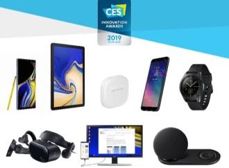 Samsung presente en premios CES 2019 con 30 galardones