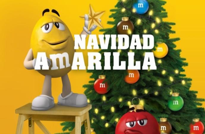 Se declara la Navidad Amarilla en la ciudad y M&M's® la acompaña