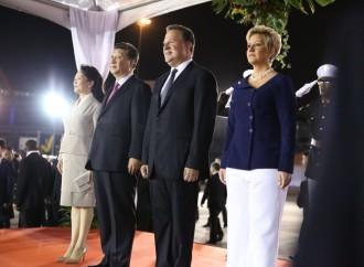 Declaración por escrito del Presidente de la República Popular China, Xi Jinping asu arribo al Aeropuerto Internacional de Panamá