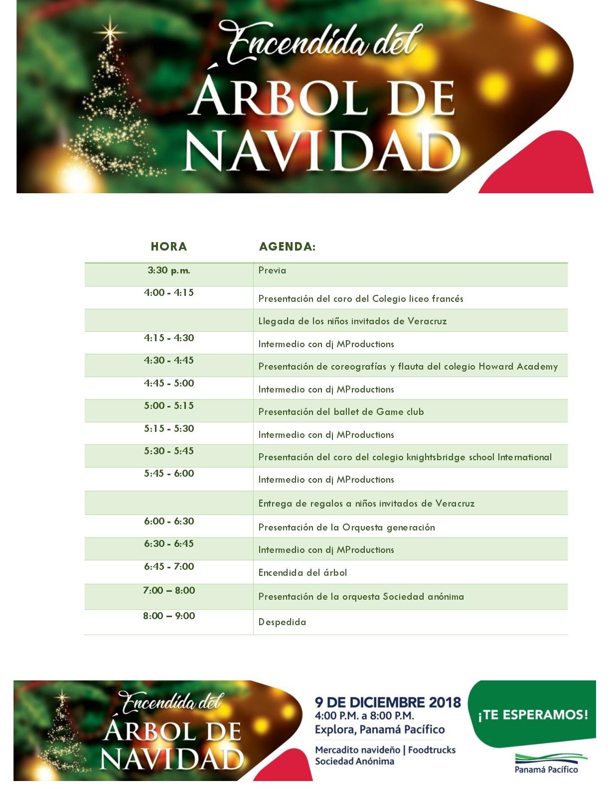 AGENDA - ENCENDIDA DE NAVIDAD-001