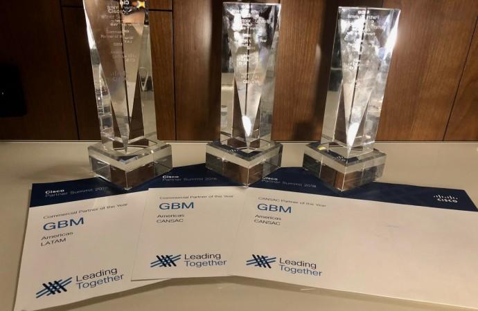 GBM reconocida como mejor socio de Cisco en Latinoamérica