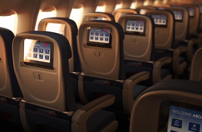 3 formas en las que Delta Flight Products está revolucionando los interiores de los aviones