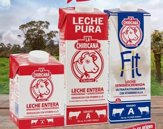 Todo el auténtico sabor de lecheLa Chiricanaahora en su nuevo empaque con tapa rosca