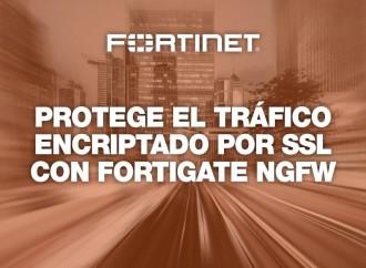 Fortinet advierte sobre una mayor cantidad de tráfico encriptado como nunca antes