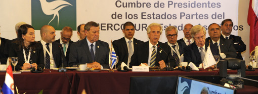 Presidente Tabaré Vázquez llama a construir un bloque con contenido y porvenir en apertura de la LIII Cumbre del Mercosur