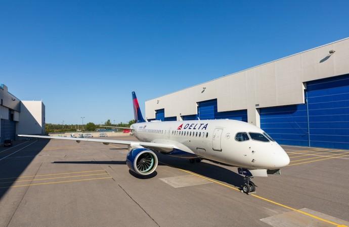 Delta extiende la cartera de pedidos de Airbus A220 a un total de 90 aeronaves