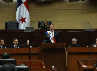 Presidente Varela realiza último mensaje de rendición de cuentas ante la Asamblea Nacional
